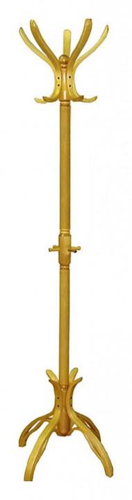 Вешалка-стойка В-12Н светло-коричневая
