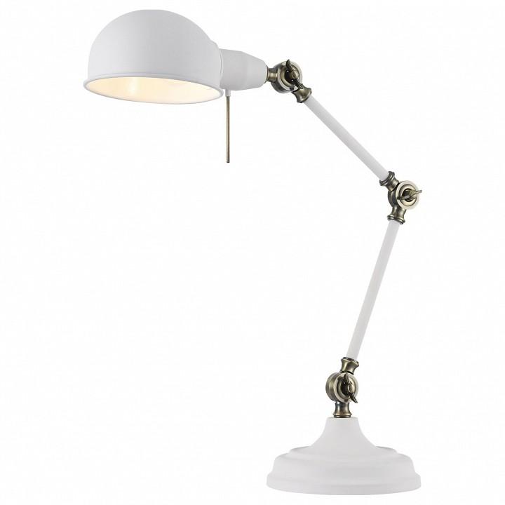 Настольная лампа офисная Maytoni Zeppo 137 Z137-TL-01-W моторезина heidenau k60 scout 170 60 b17 72t tl