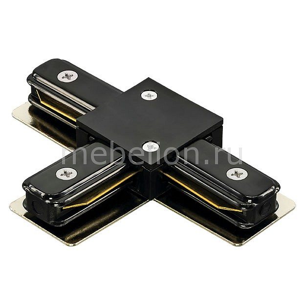 Купить Соединитель Barra 502137, Lightstar, Италия, черный, металл, полимер