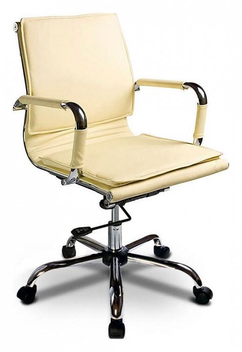 Кресло компьютерное Бюрократ Бюрократ CH-993-low слоновая кость кресло компьютерное бюрократ бюрократ ch 993 low золото