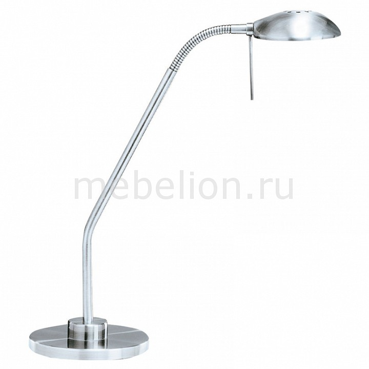Настольная лампа офисная Arte Lamp Flamingo A2250LT-1SS настольный светильник artelamp flamingo a2250lt 1ss