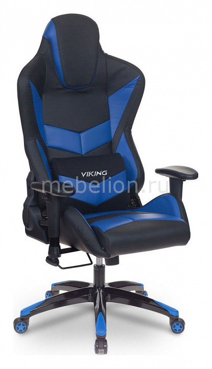 Кресло игровое Бюрократ CH-773N/BL+BLUE компьютерное кресло бюрократ ch 827 bl blue black blue