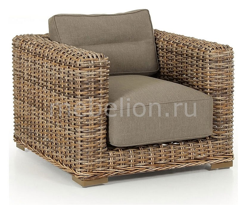 Кресло Eddo 5561-62-23 коричневое mebelion.ru 41940.000