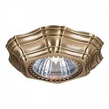 Встраиваемый светильник SPOT 1096 Bronzo