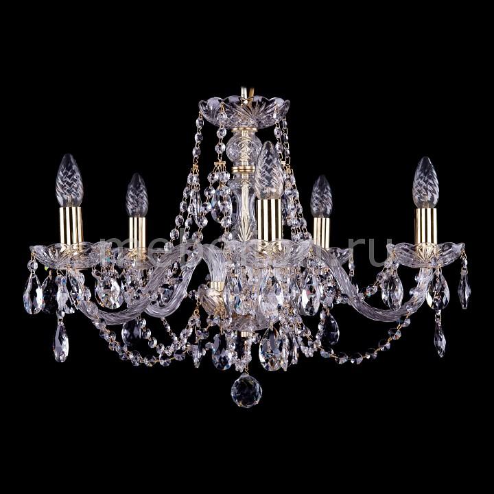Подвесная люстра Bohemia Ivele Crystal 1406/5/195/G 1406