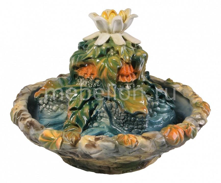 Фонтан настольный interier-ex (35х28 см) Каменный цветок Ф24