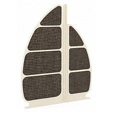 Спинка для кровати Любимый Дом Калипсо 509.190 штрихлак/коричневый