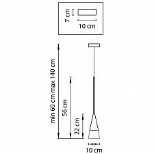 Подвесной светильник Lightstar 804110 Conicita