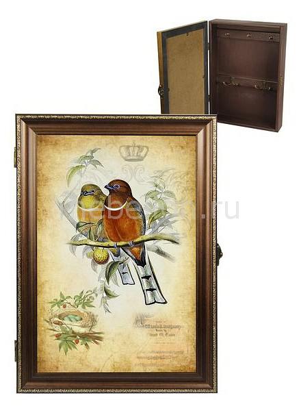 Ключница Акита (24х34 см) Винтаж 312-21 akita