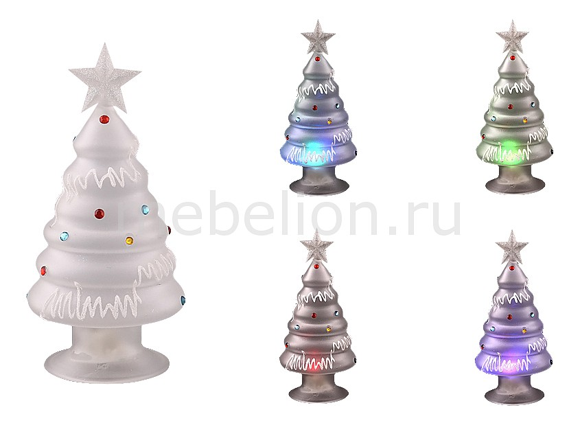 Новогодняя фигура АРТИ-М Ель световая (18 см) 594-054 ель новогодняя с елочными шарами арти м 15 см art 594 019