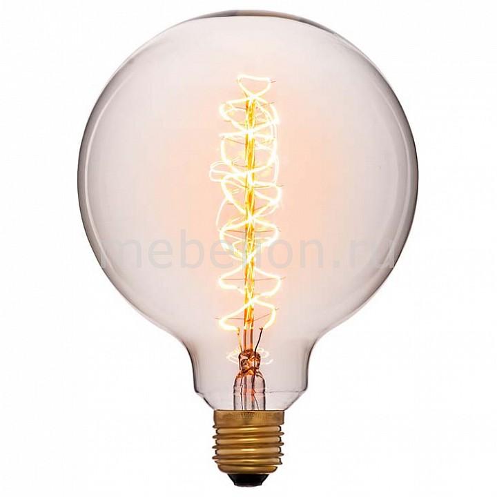 Лампа накаливания Sun Lumen G125 E27 240В 40Вт 2200K 052-030