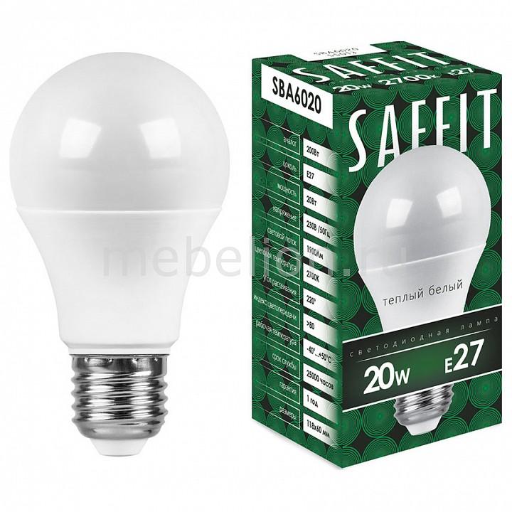 Лампа светодиодная Feron Saffit SBA6020 E27 220В 20Вт 2700K 55013