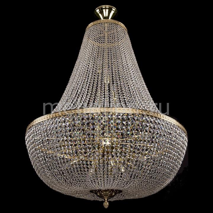 Люстра на штанге Bohemia Ivele Crystal 2150/100/G 2150