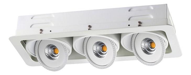 Купить Встраиваемый светильник Gesso 357582, Novotech, Венгрия
