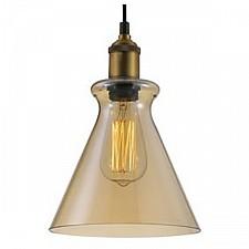 Подвесной светильник Crystal Lux CAMPANELLA SP1 AMBER Campanella