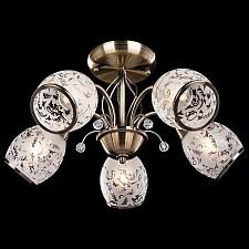 Люстра на штанге 30026/5 античная бронза