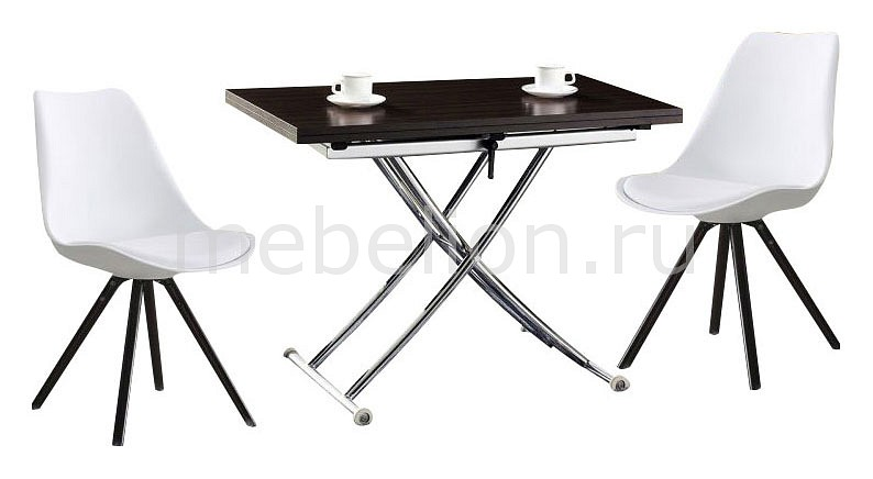 Набор обеденный ESF B2219/PW072Y стол обеденный опора металл орех монпелье 432903 шатура столы обеденные