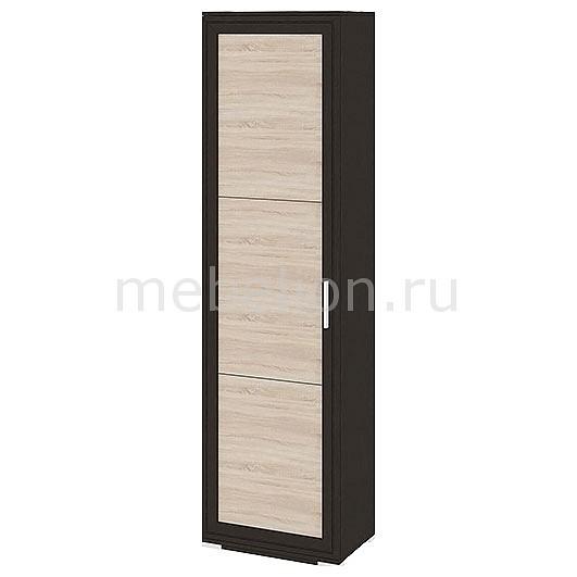 Шкаф платяной Мебель Трия Нео 106.05 венге цаво/дуб сонома