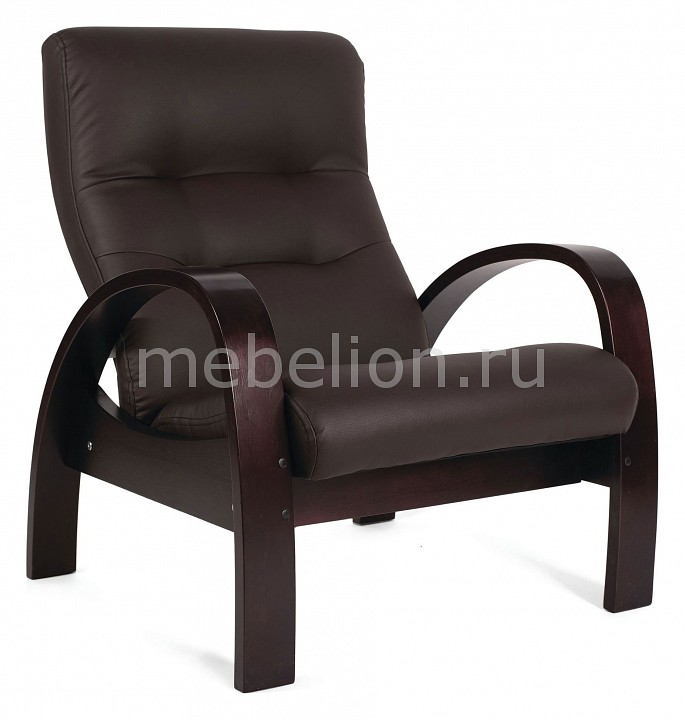Кресло Мебелик Тенария 3 кресло качалка мебелик тенария 1 замша бежевый каркас темно коричневый