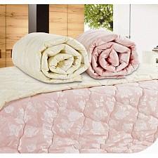 Одеяло полутораспальное стеганное Бамбук розовый AR_F0002654_1