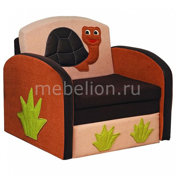 Диван-кровать Мася-8 Черепаха 8151127 бежевый/коричневый  декор журнальных столиков фото