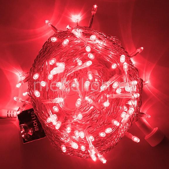 Гирлянда Нить RichLED Гирлянда нить (10 м) RL-S10C-220V-T/R гирлянда light светодиодная нить rgb 10 м 24v чёрный провод
