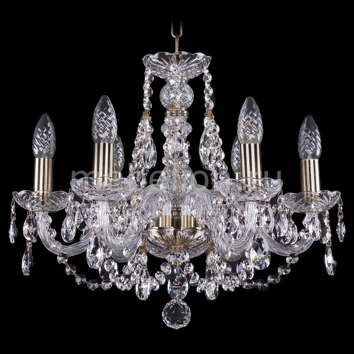 Подвесная люстра Bohemia Ivele Crystal 1406/6/160/Pa 1406