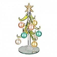Ель новогодняя с елочными шарами АРТИ-М (15 см) ART 594-104