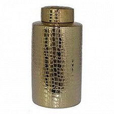 Банка декоративная (45 см) Black & Gold 41776