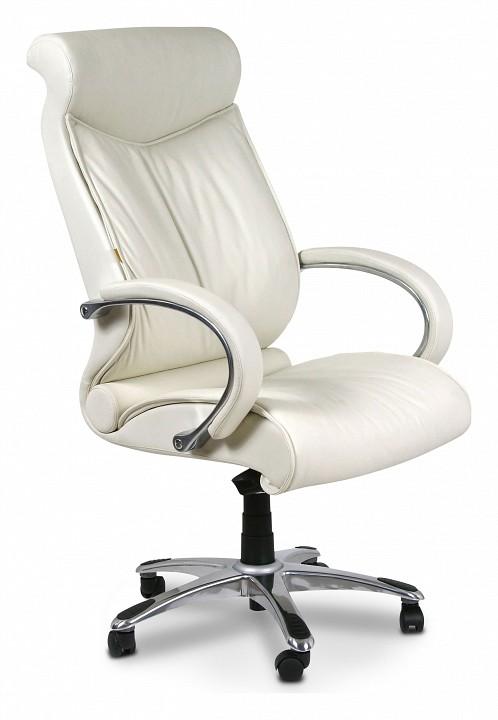 Кресло для руководителя Chairman 420 белый/хром, черный  журнальный столик с полкой
