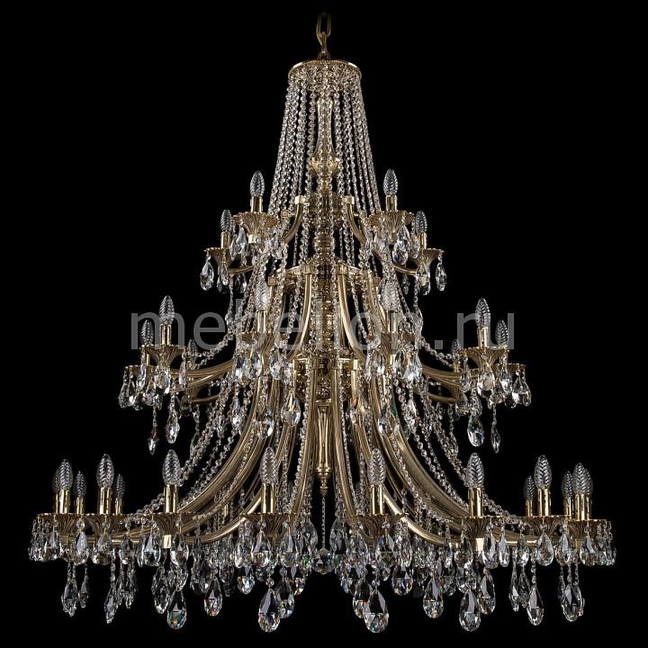 Подвесная люстра Bohemia Ivele Crystal 1771/20+10+5/490/A/GB 1771