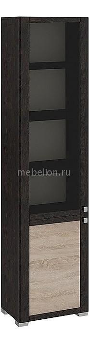 Шкаф-витрина Мебель Трия Фиджи ШК(07)_32-21_17 венге цаво/дуб сонома шкаф витрина мебель трия фиджи шк 07