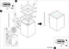 Накладной светильник Eglo 88099 Tabo 1