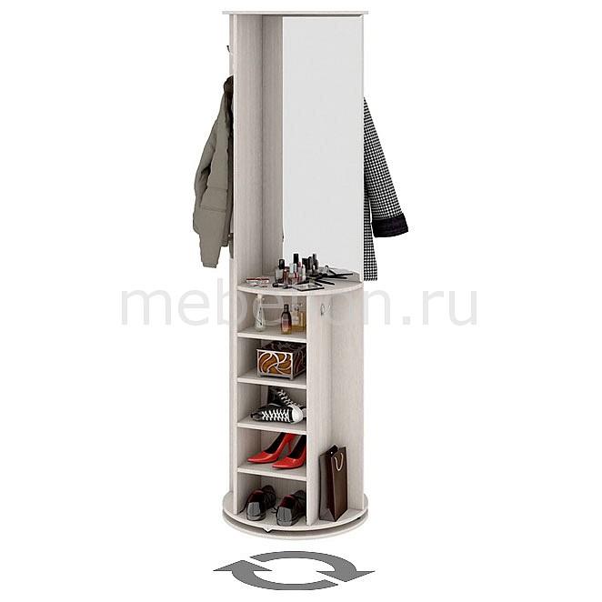 Вешалка поворотная Мебель Трия Вешалка корпусная Оригами дуб белфорт корпусная мебель