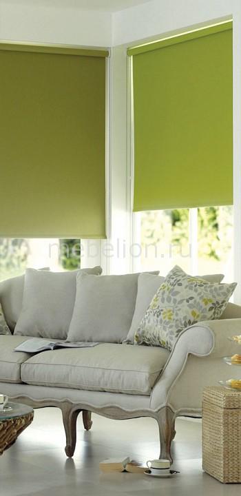 Купить Рулонная штора (50х170 см) 1 шт. ASMIRA 2, Garden, Россия, зеленый, полиэстер 100%