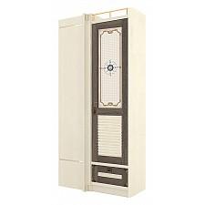 Шкаф платяной Калипсо 509.040 штрихлак/сонома эйч темная