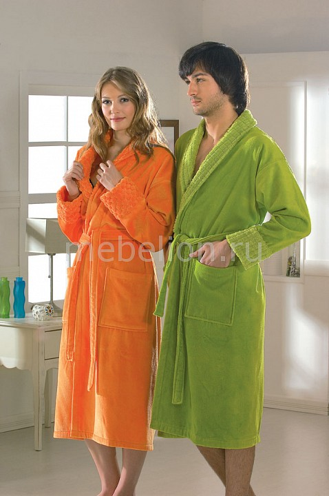 Халат мужской HOBBY Home Collection (XL) ANGORA cnmf зеленый xl