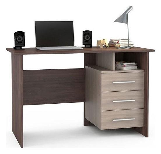 Стол письменный MOBI Брайтон 2011 компьютерный стол mobi брайтон 2000 ск м брайтон 2100 ск ясень шимо темный ясень шимо светлый