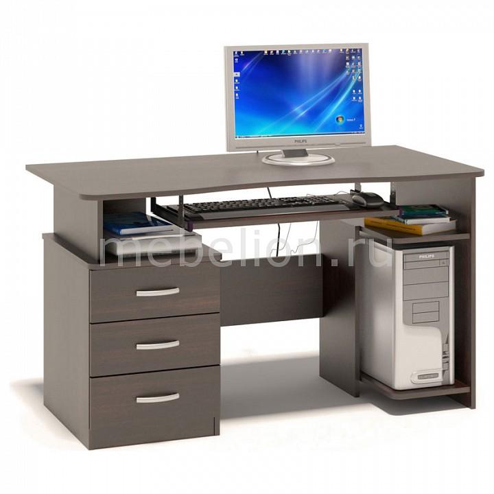 Стол компьютерный Сокол Касвин КСТ-08.1В стол компьютерный сокол кст 104 1 испанский орех правый