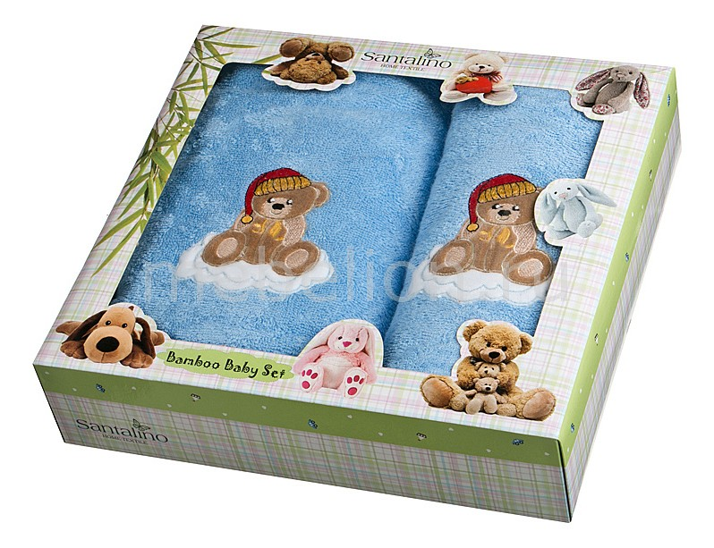 Полотенце детское АРТИ-М Набор из 2 полотенец для ванной 820-0 полотенце для кухни арти м джинсовое сердце