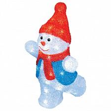 Снеговик световой (34 см) ULD 11030