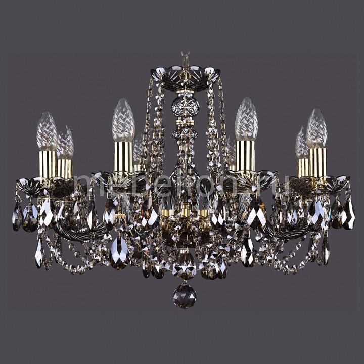 Подвесная люстра Bohemia Ivele Crystal 1402/8/195/G/M731 1402