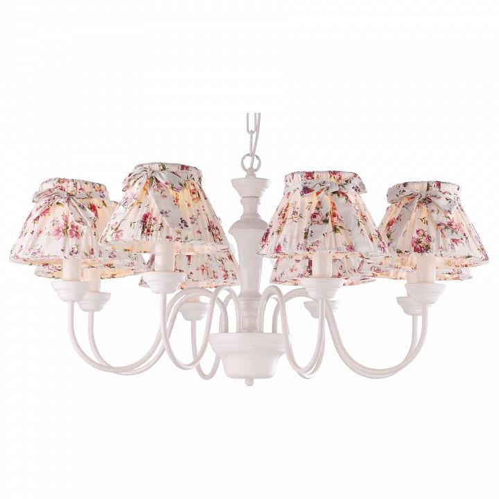Подвесная люстра Arte Lamp A7020LM-8WH Bambina