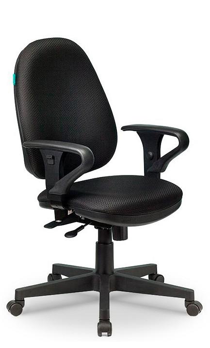 Кресло компьютерное T-612AXSN черное  авито диваны кровати дешевые