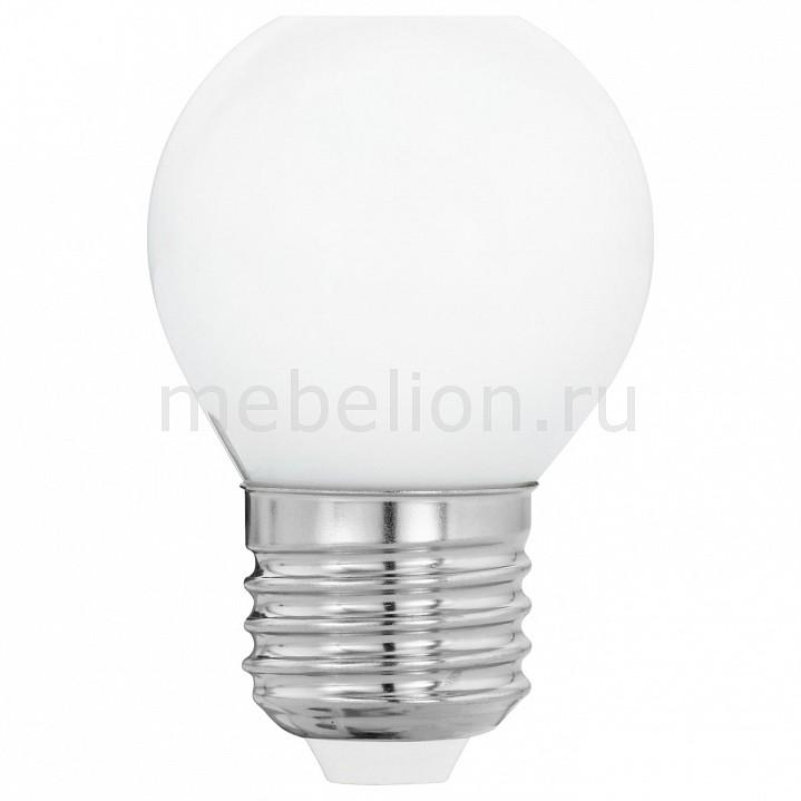 Лампа светодиодная [поставляется по 10 штук] Eglo Лампа светодиодная Милки E27 4Вт 2700K 11605 [поставляется по 10 штук] лампа светодиодная [поставляется по 10 штук] eglo лампа светодиодная g80 e27 2вт 2200k 11556 [поставляется по 10 штук]