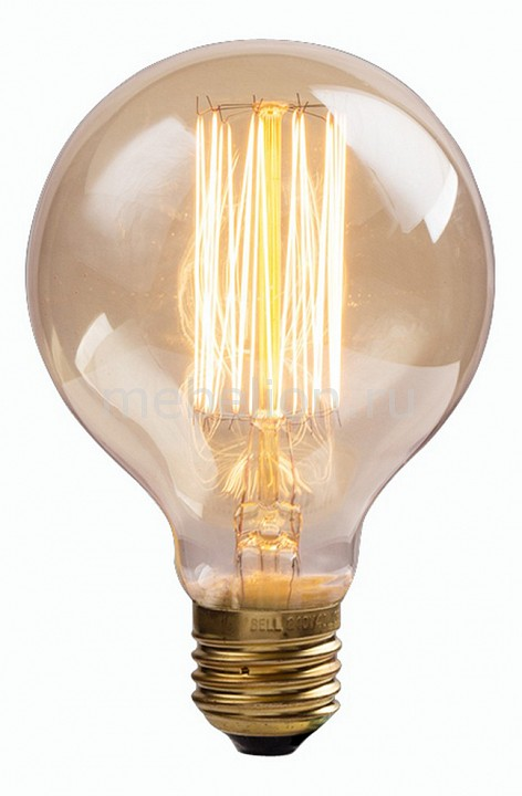Лампа накаливания Arte Lamp Bulbs E27 220В 60Вт 2700K ED-G80-CL60 недорого