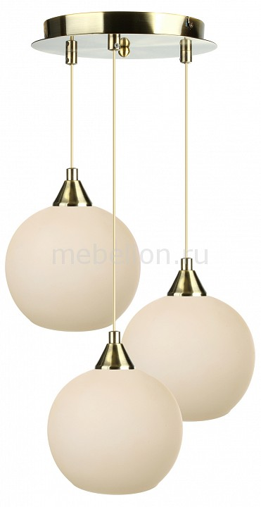 Подвесной светильник 33 идеи PND.101.03.01.AB+S.02.BG(3) подвесной светильник 33 идеи pnd 101 01 01 ab s 04 bg 1