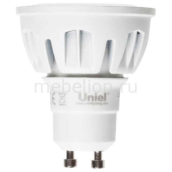Лампа светодиодная Uniel GU10 175-265В 6Вт 4500K LED-JCDR-6W/NW/GU10/FR/38D ALM01WH