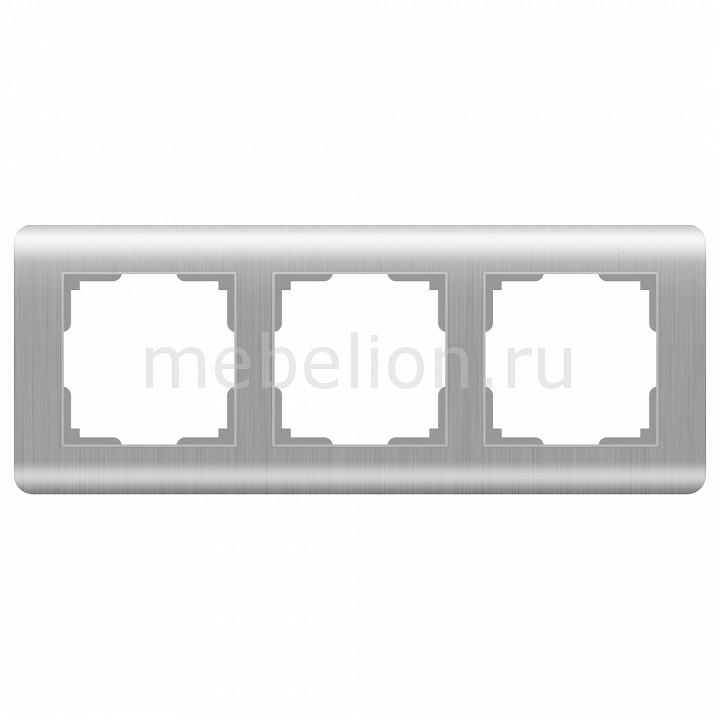 Рамка на 3 поста Werkel Stream WL12-Frame-03 цена