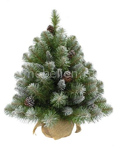Ель новогодняя Triumph Tree (60 см) Императрица с шишками 73701 triumph tree ель нормандия 90 см в мешочке зеленая